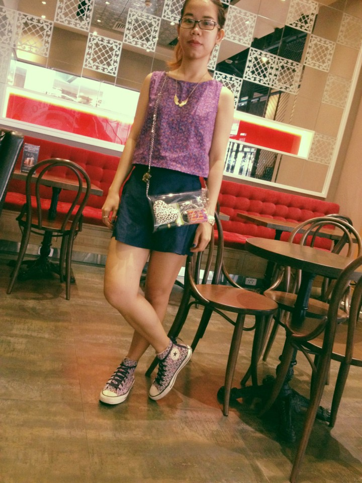 OOTD - Purple in town